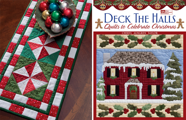 "pattern Table free a xmas  runner Candy called quilted ""Peppermint table patterns Here's  Runner  quilt"