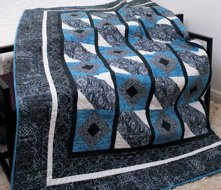 free quilt pattern that is perfect for a guy. Janet Houts designed
