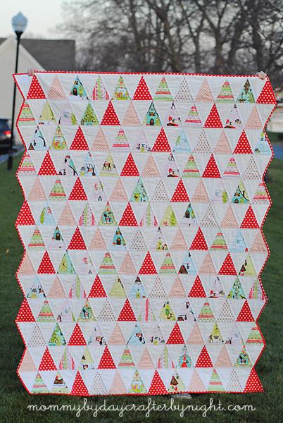 Free Quilt Pattern: Isosceles Triangle