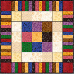 Log Cabin Quilts - Free Quilting Patterns and Tutorials