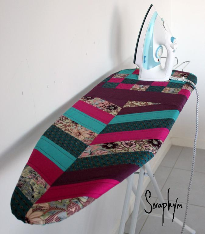 Free Quilt Pattern Quilted Ironing Board Cover I Sew Free Simple Quilted Sewing Machine Cover Pattern