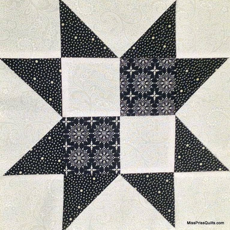 Free Quilt Pattern Four Patch Star I Sew Free
