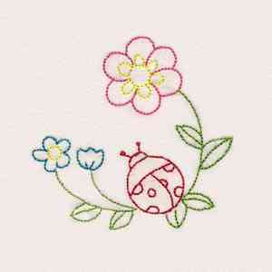 How to transfer embroidery designs to fabric how to for Garden embroidery designs free