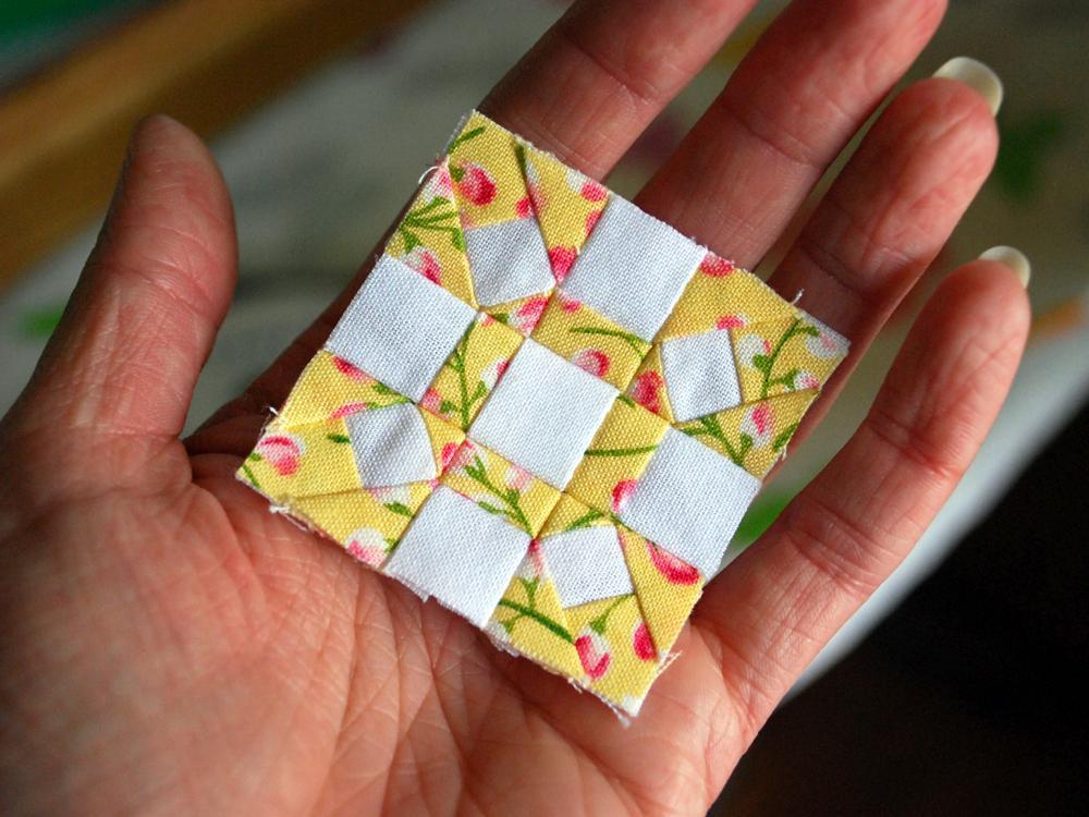 Free Quilt Pattern Mini Quilt Block I Sew Free