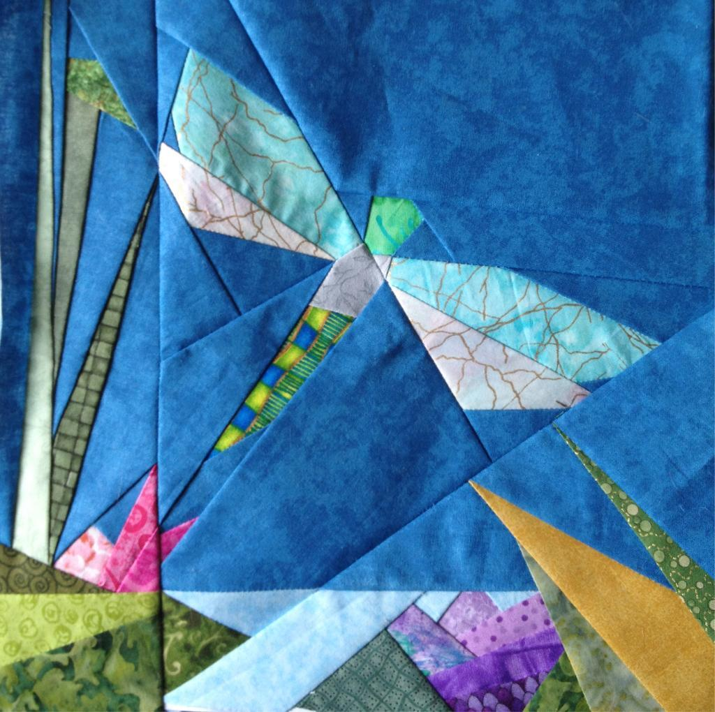 Free Quilting Patterns For Spring : Free Quilt Pattern: Spring In The Pond