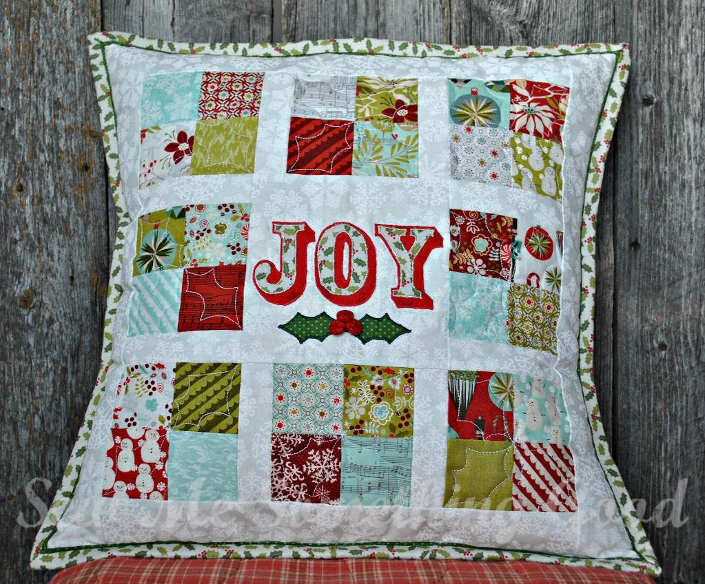 Free Quilt Pattern: Oh, Joy! Patchwork Pillow Pattern