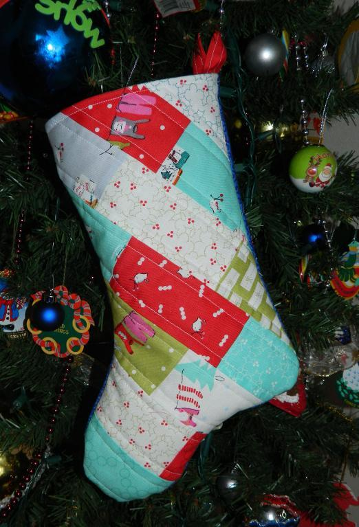 Free Quilt Pattern: Charming Christmas Stocking