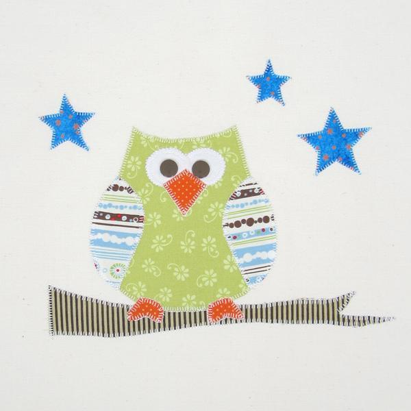 free sewing pattern night owl applique template pattern i sew free