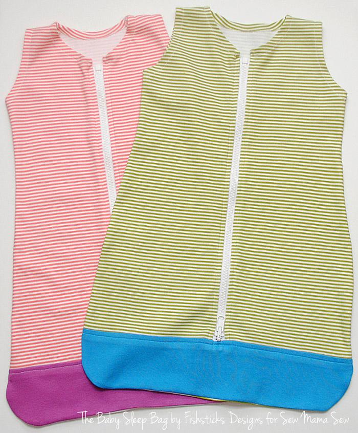 Free Sewing Pattern: Baby Sleep Bag