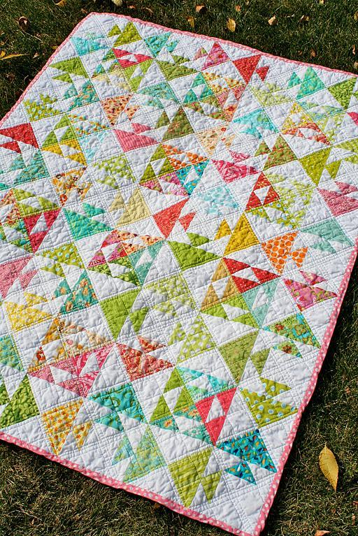 Free Quilt Pattern Kissing Fish Baby Quilt