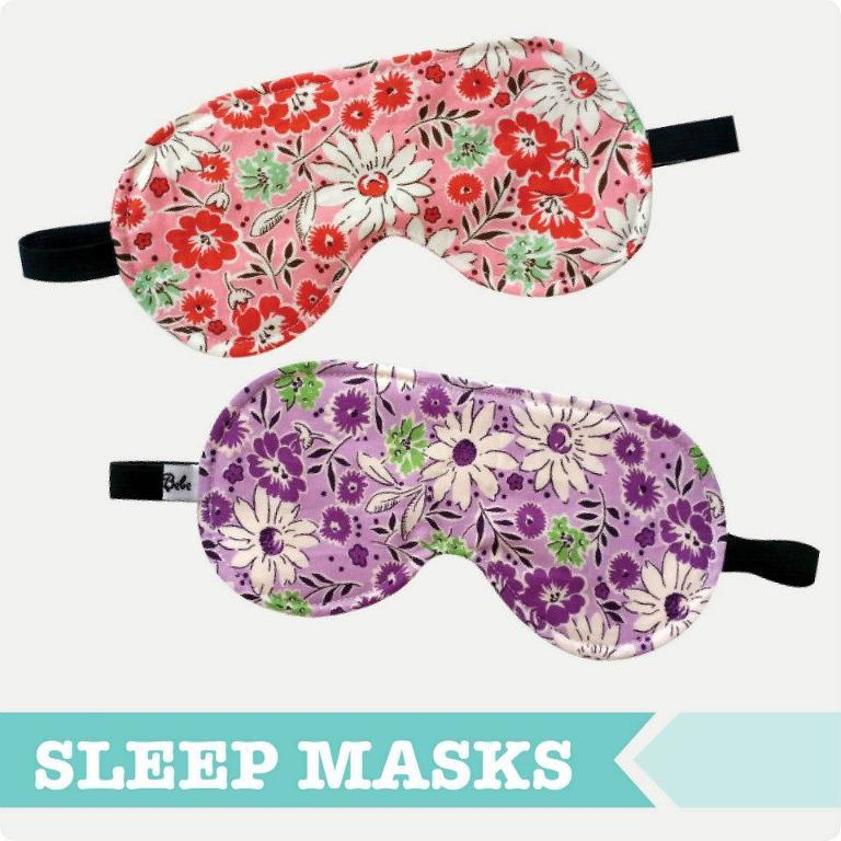Free Sewing Pattern: Adult Sleep Eye Mask | I Sew Free