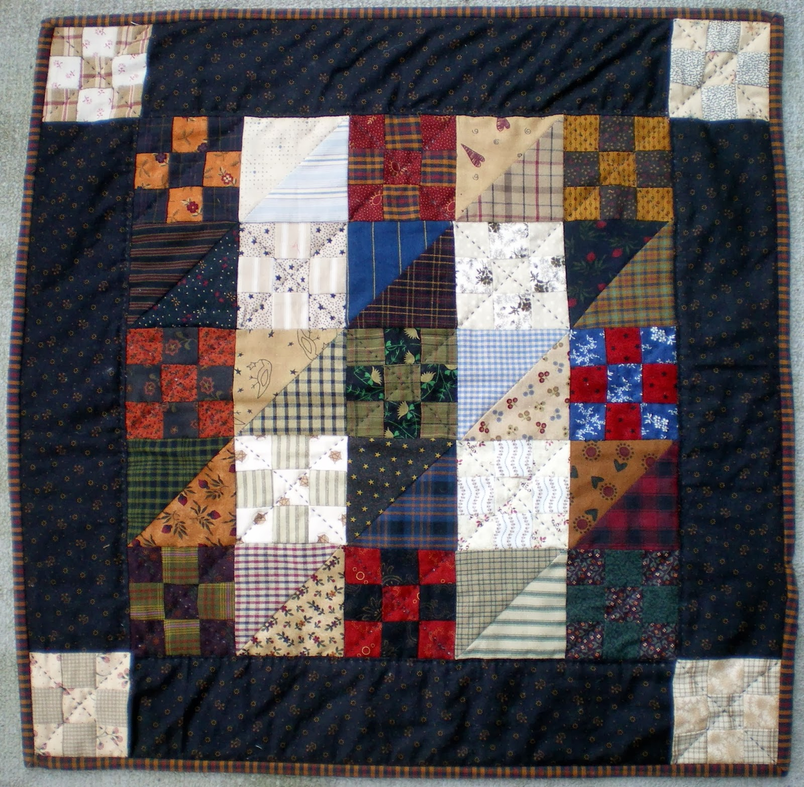 Free Quilt Pattern Opposites Attract I Sew Free