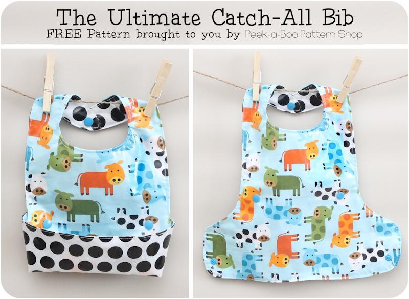 Free Sewing Pattern: Ultimate Baby Bib | I Sew Free