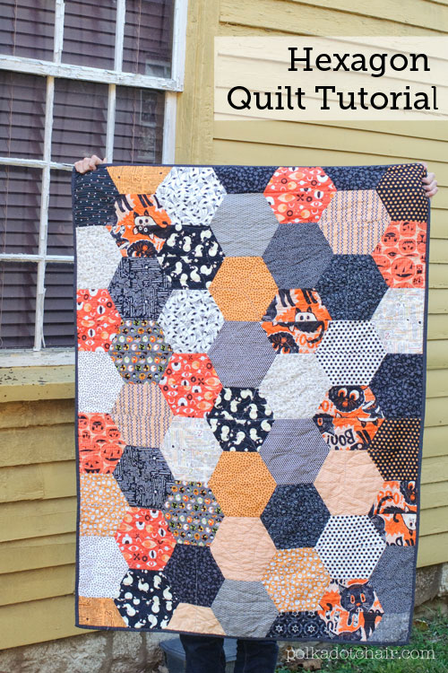 Free Quilt Tutorial: Hexagon Quilt