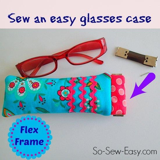 Flex Frame Glasses Case Pattern