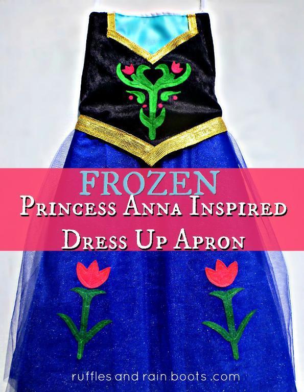 Free Sewing Pattern: Disney FROZEN-Inspired Princess Anna Apron: http://www.isewfree.com/free-sewing-pattern-disey-frozen-inspired-princess-anna-apron/