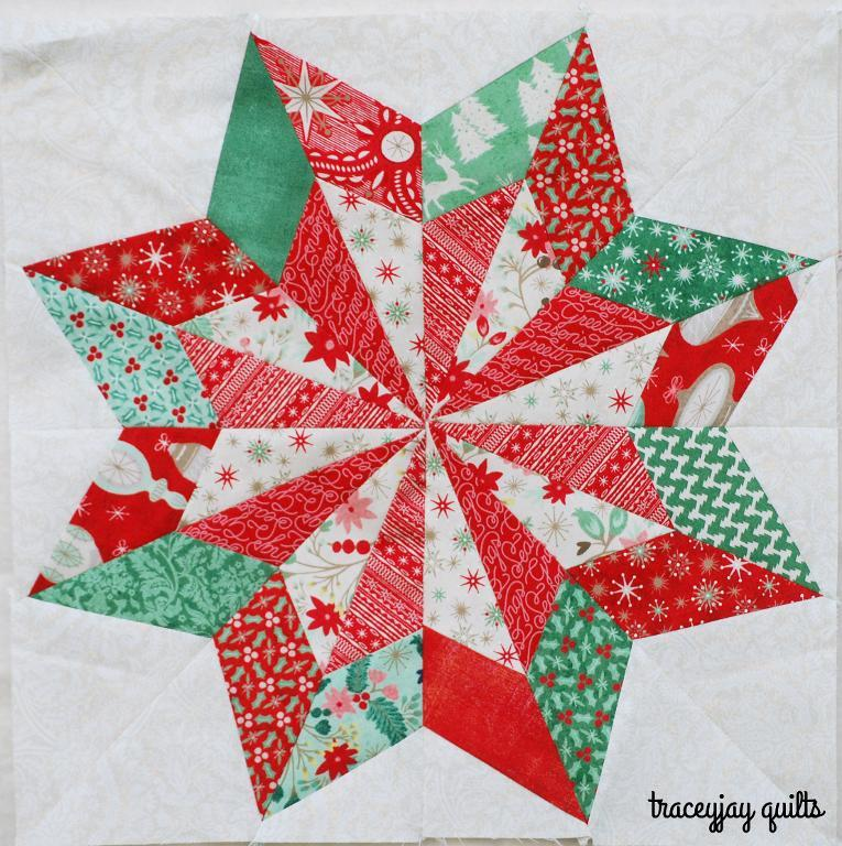 Free Christmas Quilt Block Patterns.Free Quilt Pattern So Pretty Star I Sew Free