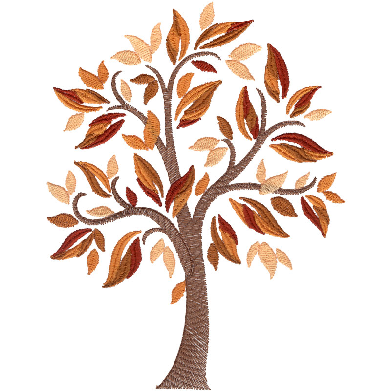 22 elegant embroidery designs trees