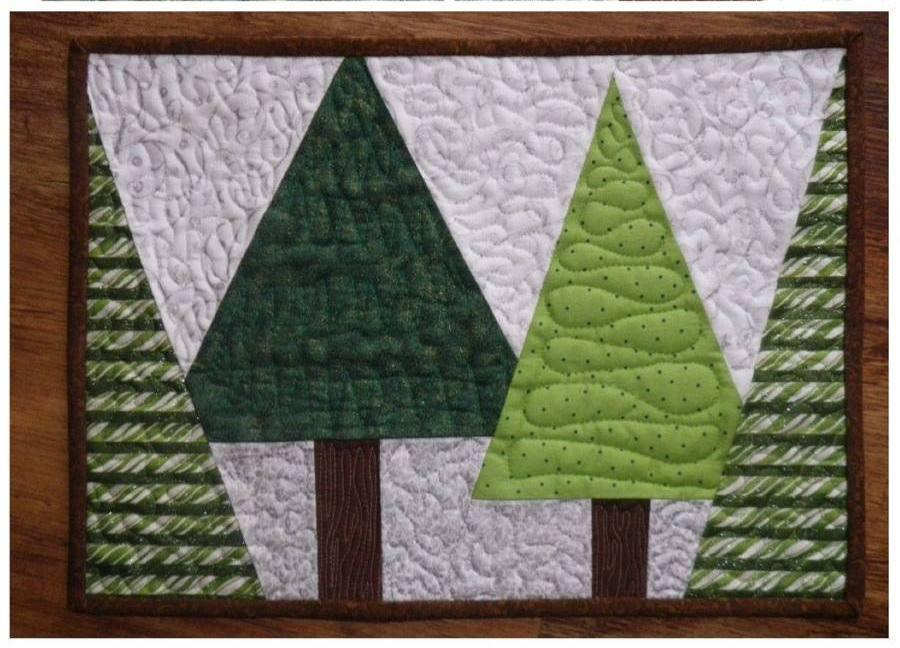 Free Sewing Pattern Christmas Placemat