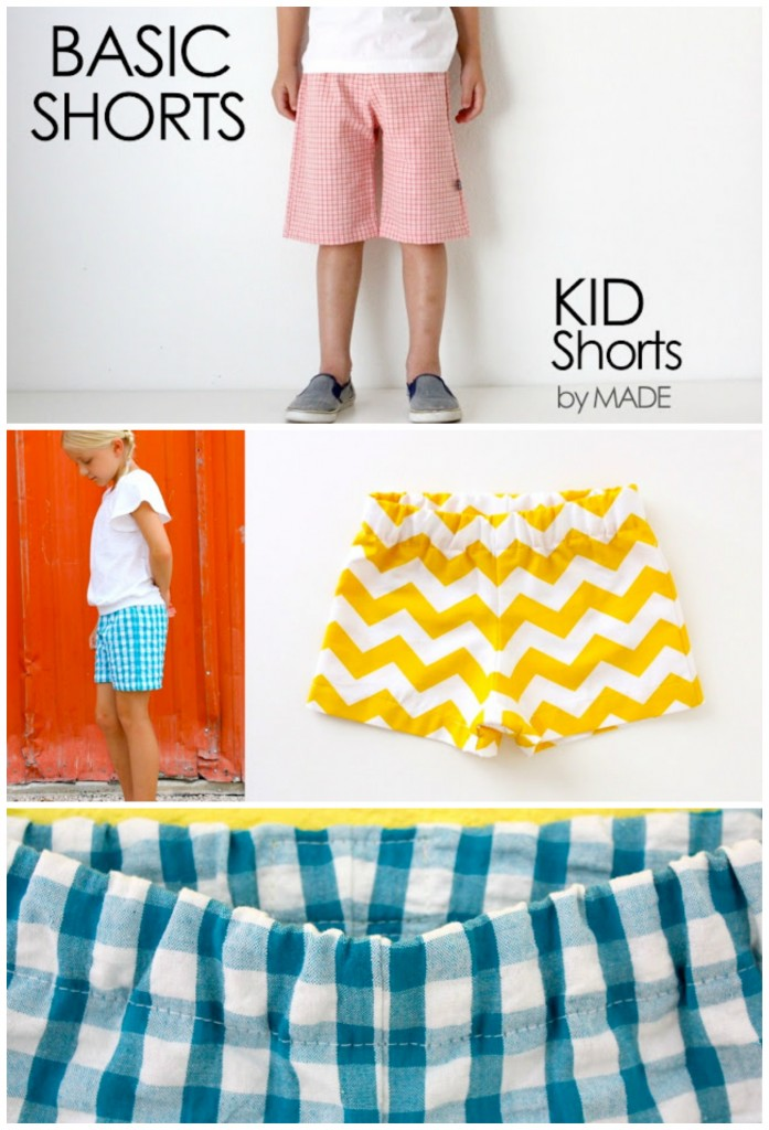 Free Sewing Pattern: Kids Shorts | I Sew Free