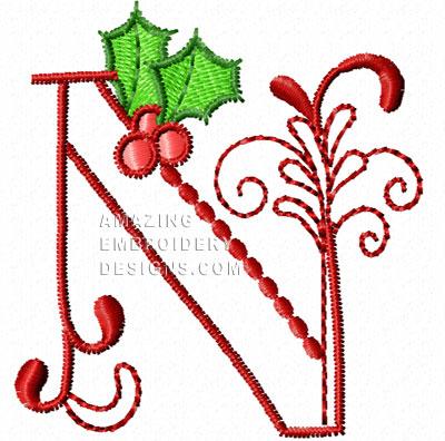 n alphabet design  ... Amazing Embroidery Designs'