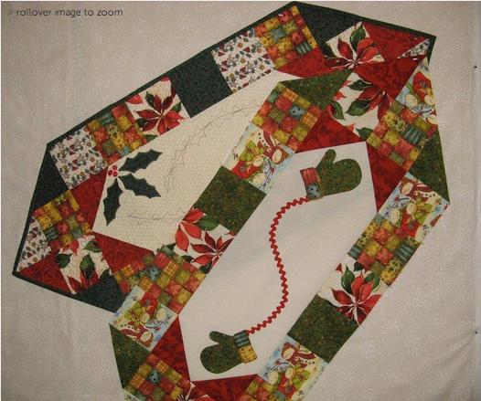 Phenomenal Free Quilt Pattern Two Christmas Table Runners I Sew Free Home Remodeling Inspirations Propsscottssportslandcom