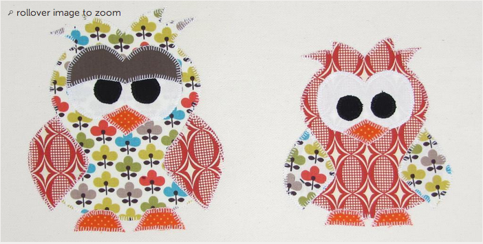 Free Sewing Pattern Big Bro Owl Applique Template I Sew Free