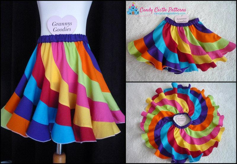 Peppermint Swirl Skirt Tutorial - Free download - Beautiful twirly ...