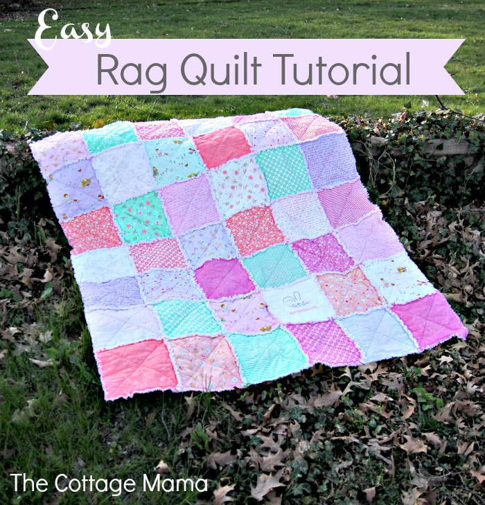 Free Quilt Tutorial Some Bunny Loves You Easy Rag Quilt I Sew Free