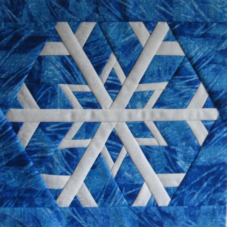 Free Snowflake Quilting Stencil : Free Quilt Pattern: Snowflake 2