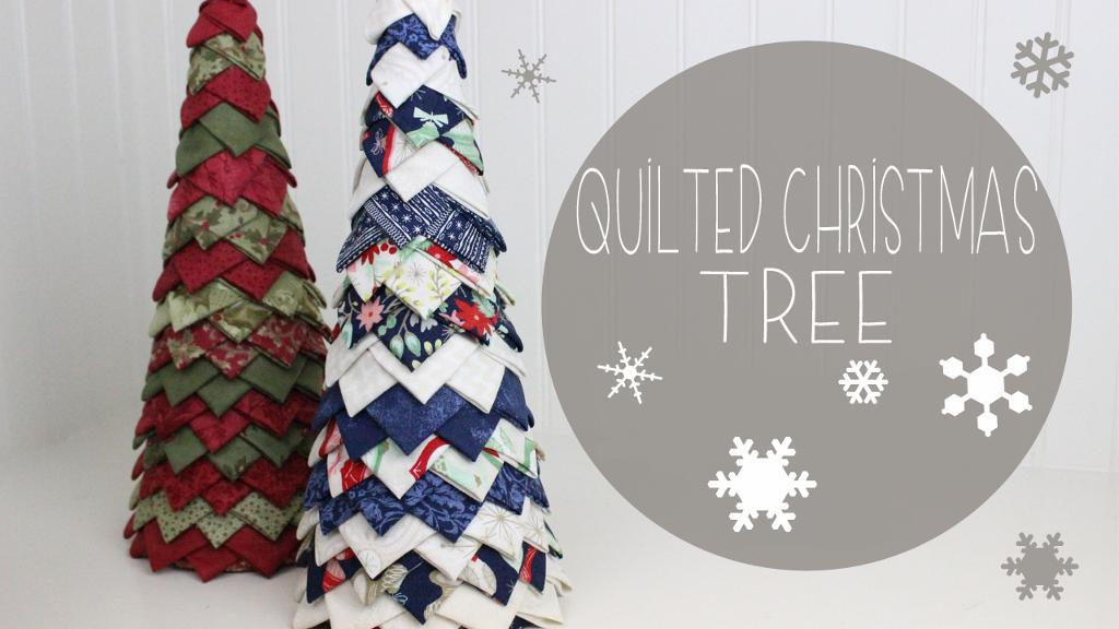 Free Quilt Pattern Quilted Christmas Tree I Sew Free