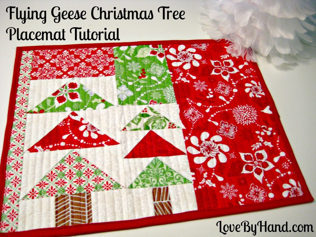 Christmas Placemat Patterns Awesome Design Ideas