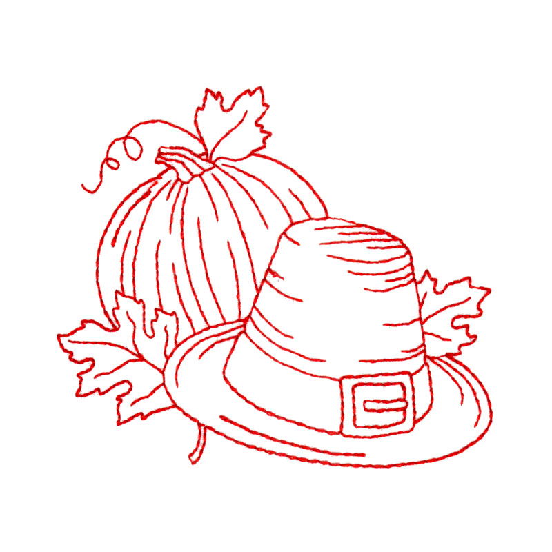 Thanksgiving Embroidery Patterns | Makaroka.com