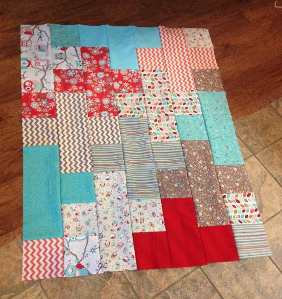 Free Quilt Pattern: Plus Quilt Baby Size