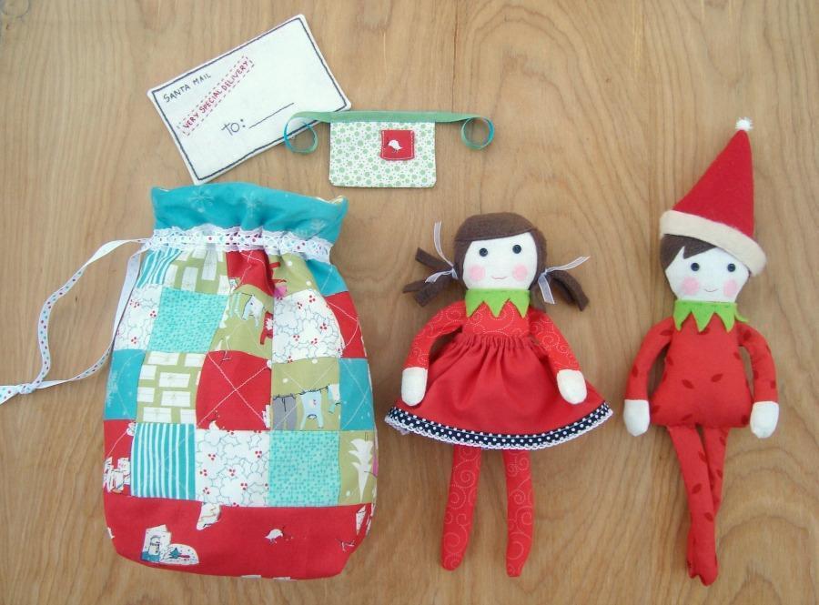 Free Sewing Pattern Elf On The Shelf I Sew Free