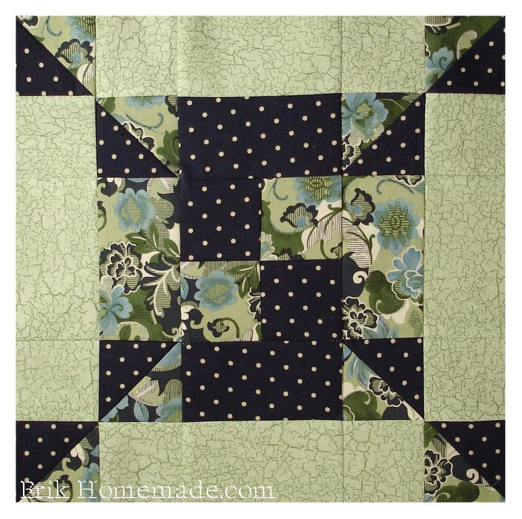 Irish Quilting Patterns : Free Quilt Pattern: Irish Footprints Block