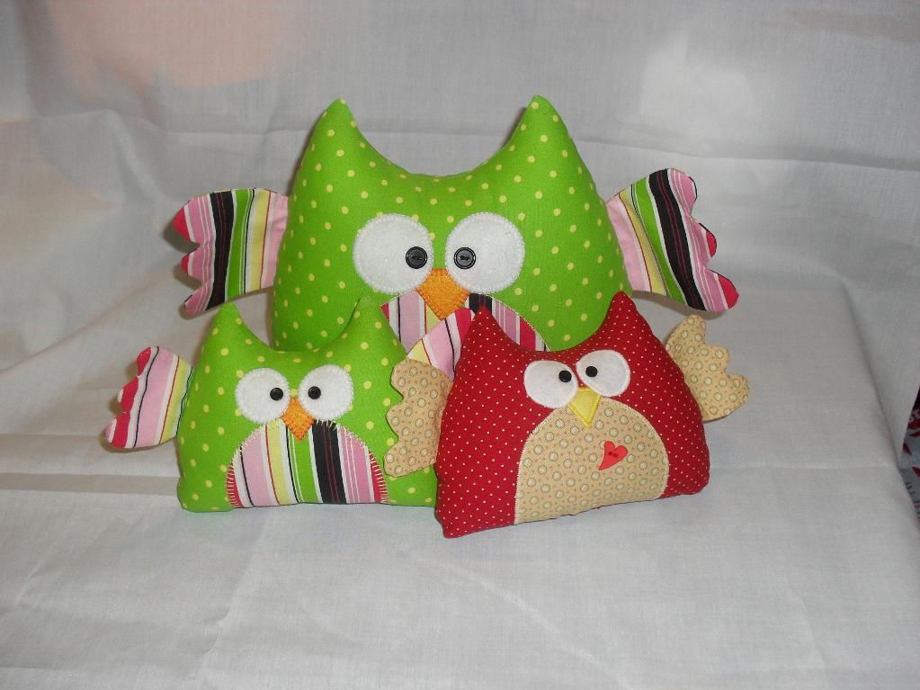 Free Sewing Pattern Owl Softie I Sew Free