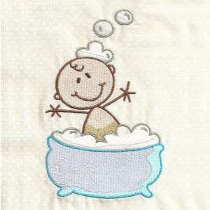 Free embroidery design bath for Bathroom embroidery designs