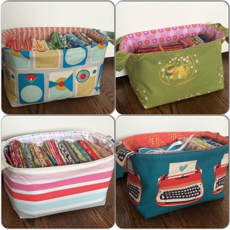 Free Sewing Pattern: 1 Hour Basket