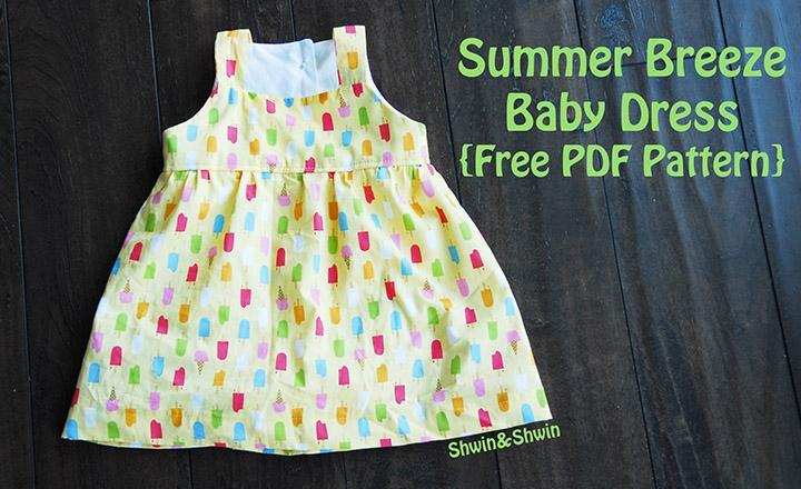 Free Sewing Pattern: Summer Breeze Baby Dress | I Sew Free