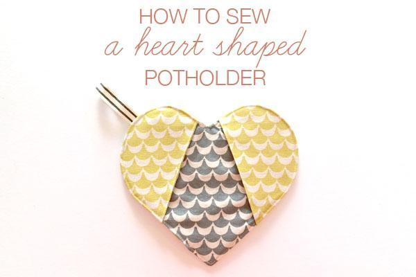 Free sewing pattern heart shaped potholder i sew free for Heart template for sewing