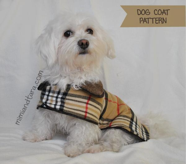 Free Sewing Pattern: Dog Coat | I Sew Free