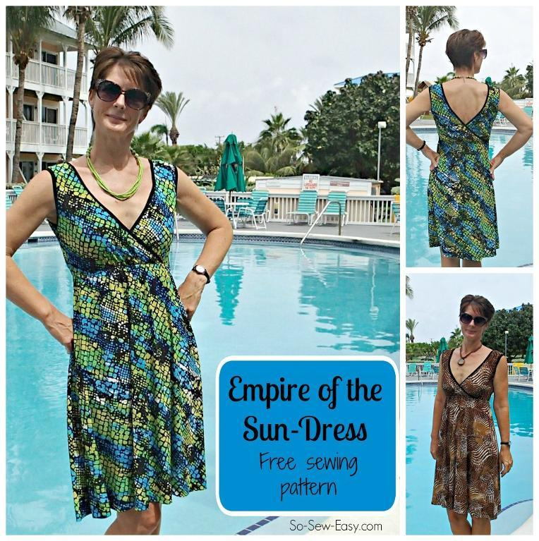 Free Sewing Pattern Empire Of The Sun Dress I Sew Free