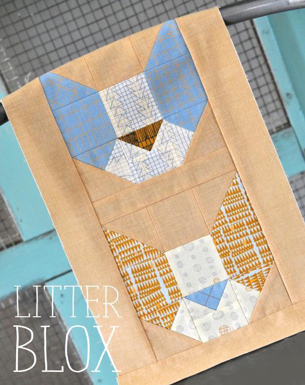 Free Quilt Pattern: Litter Box