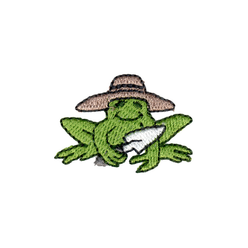 Free embroidery design garden frog for Garden embroidery designs free