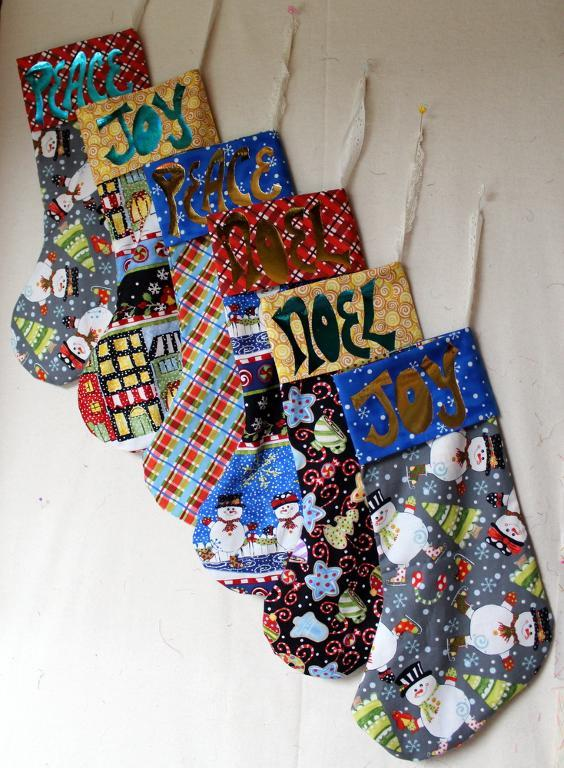 Free Quilt Pattern For Christmas Stocking : Free Quilt Pattern: Christmas Stocking Word Templates