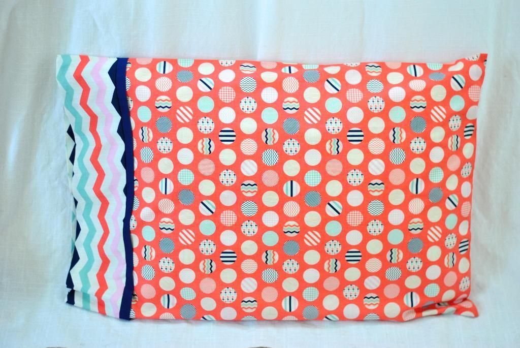 Free Sewing Pattern 15 Minute Pillowcase I Sew Free