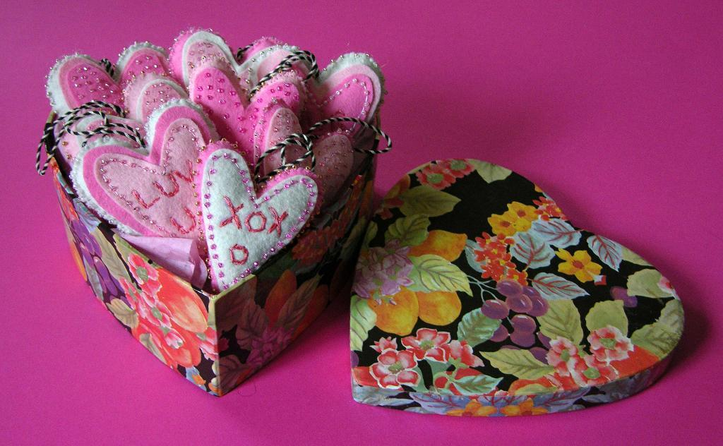 Free Sewing Pattern Valentine Heart Ornament I Sew Free