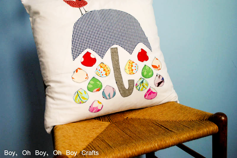 Free Sewing Pattern Spring Showers Pillow Template I Sew Free