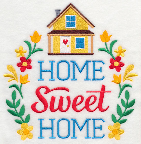 Free embroidery design home sweet home - Home sweet home designs ...